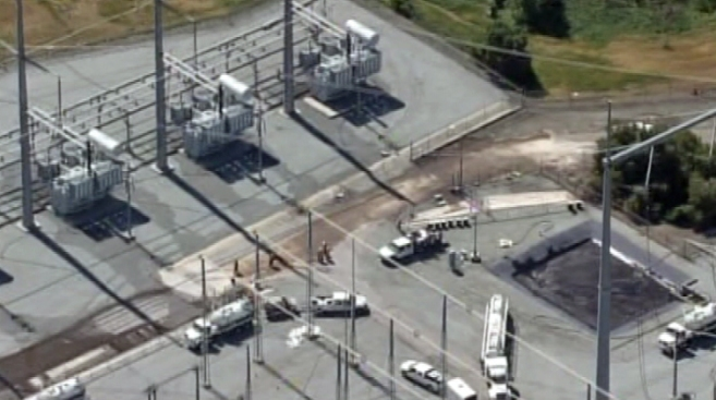Surveillance Video Release From Sabotaged PG&E Substation