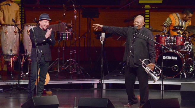 Paul Simon Celebrates Masekela's 75th Birthday