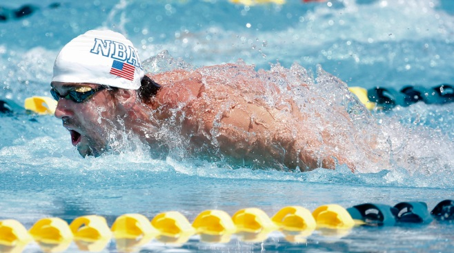 Phelps Uses 50 Free to Perfect His Butterfly, Fails to Advance