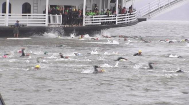 Former U.S. Olympian Wins 27.5-Mile 'Escape from Alcatraz Triathlon' for Record Sixth Time