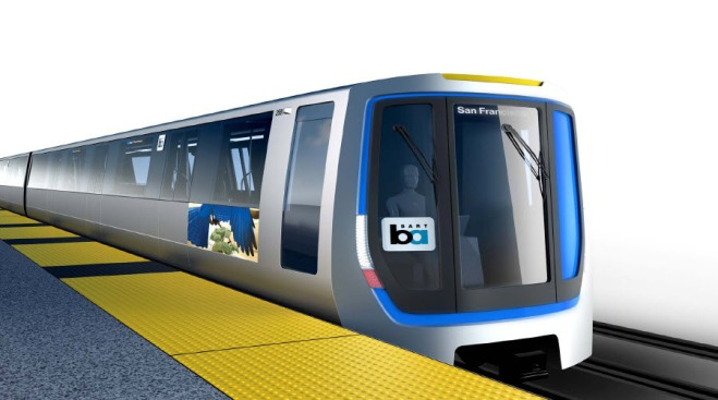 BART Unveils Trains of the Future