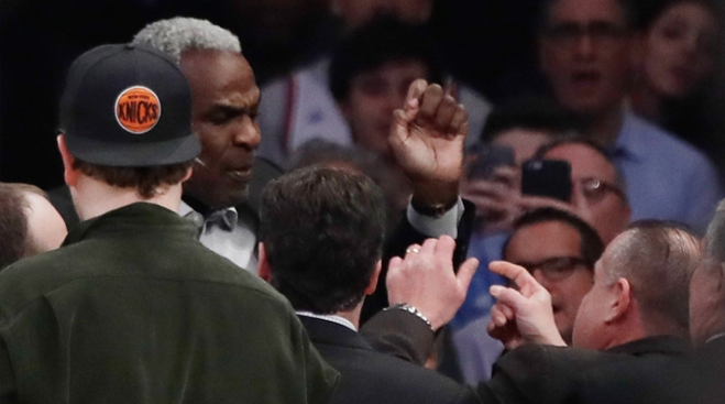Charles Oakley's Arrest Marks Lowest Point in His Falling Out With Knicks
