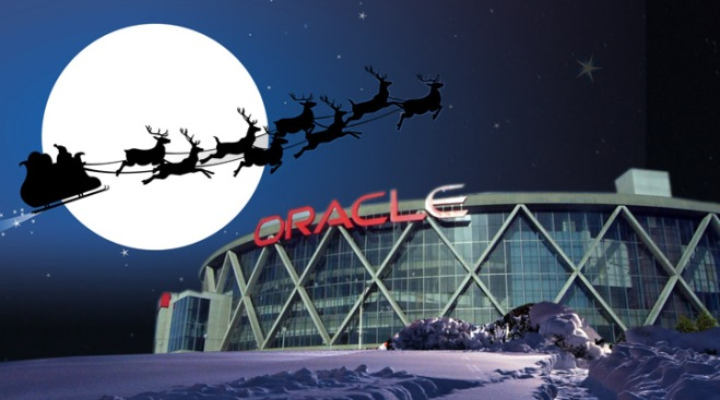 Golden State Warriors Celebrate Christmas on Prime Time