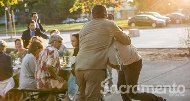Sacramento Mayor Attacked By Pie-Wielding Man