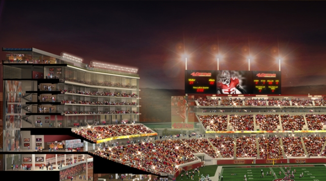 Santa Clara Figures Out How to Keep Funding for Football Stadium