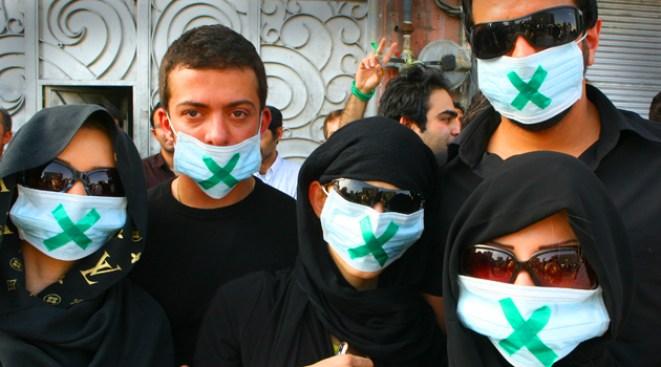 Iran Protesters: Facebook, Google Speak Your Language