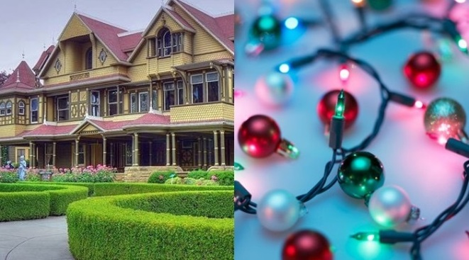 Winchester Mystery House: 'Spirit of Christmas'