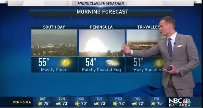 Jeff's Forecast: Air Advisory & Warm Inland