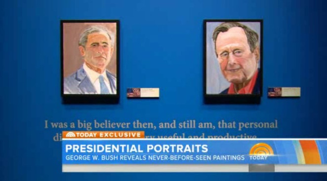 Presidential Portraits: George W. Bush Unveils His Paintings of World Leaders