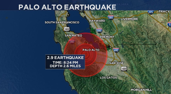 Magnitude-2.9 Earthquake Jolts Peninsula