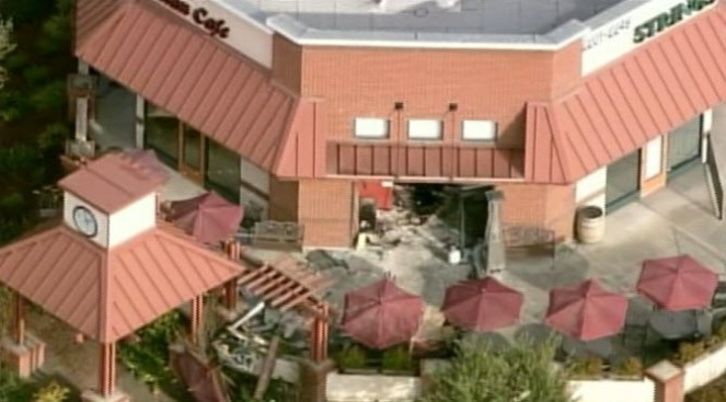 SUV Crashes Into Livermore Restaurant
