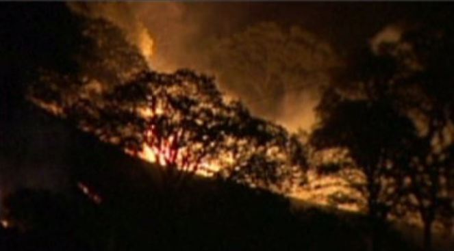 Contra Costa Brush Fire 80 Percent Contained