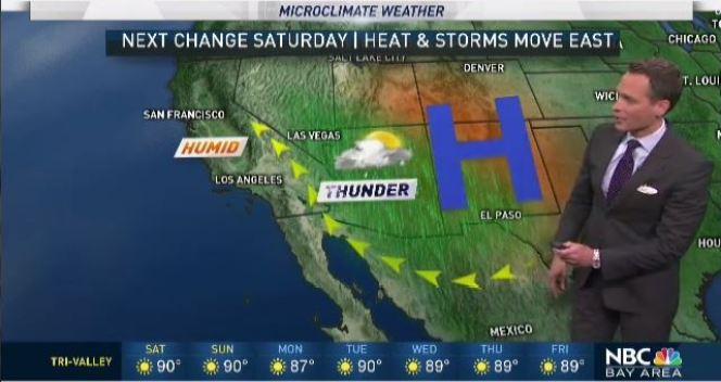 Jeff's Forecast: Slight Humidity Lingers