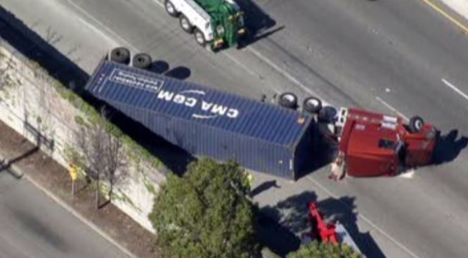 Motorcyclist Killed on I-80 After Falling Into Path of Big-Rig, SUV