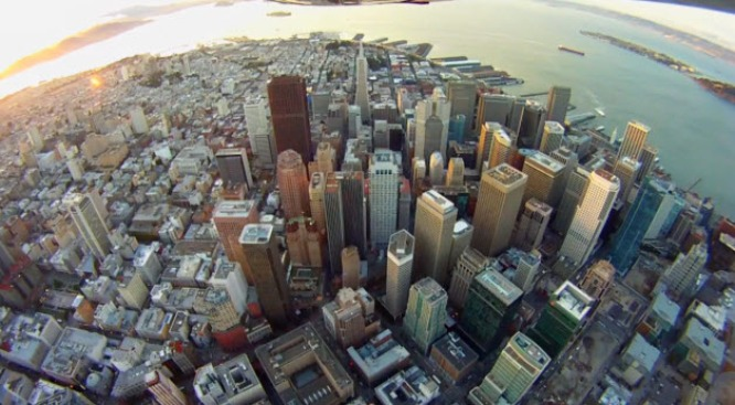San Francisco In Flight