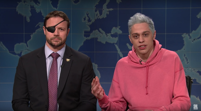 Dan Crenshaw Says He Spoke to Pete Davidson After SNL Star's Post