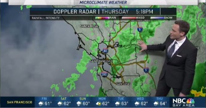 Jeff's Forecast: Early Friday Rain