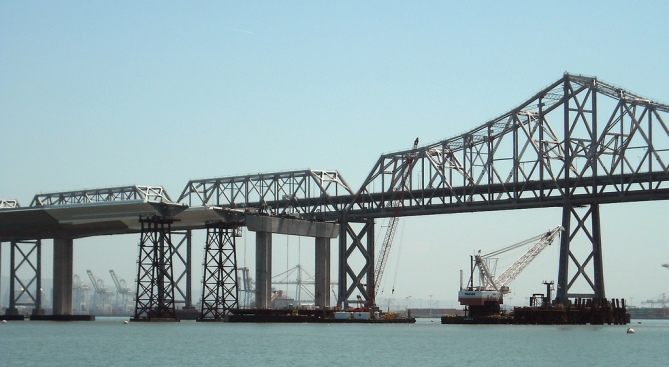 New Bay Bridge Cable Saddle is Biggest in the World
