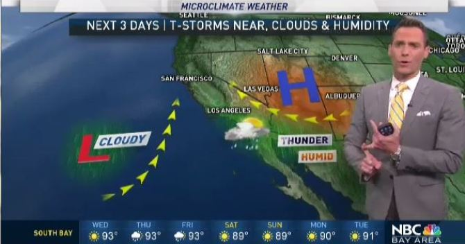 Jeff's Forecast: Slight Rain Chance