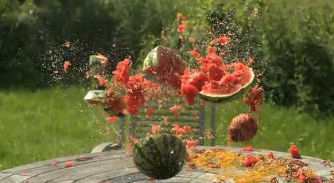 500 Rubber Bands Make Watermelons Explode