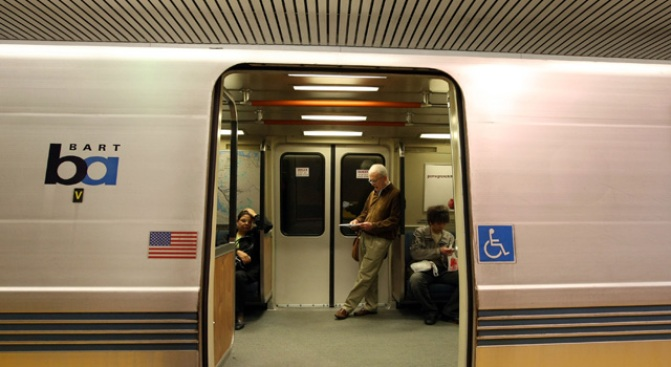 Stalled Train Halts Transbay Tube Service