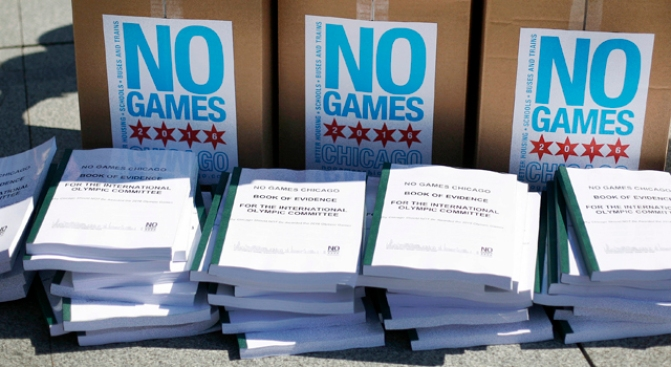 """""""No Games Chicago"""" Gets Help from Olympic Competition"""