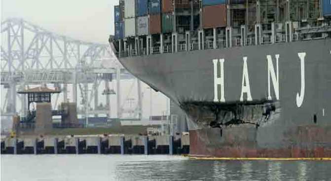Cosco Busan Pilot Gets Out of Jail