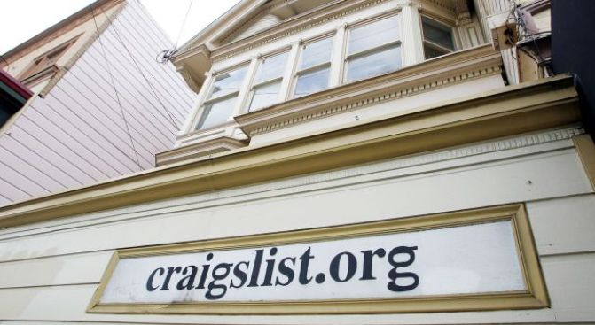Groups Protest Outside Craigslist