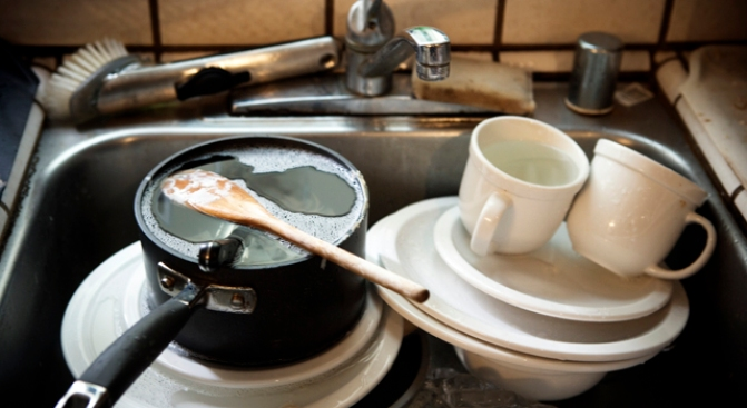 The Dirty Truth Lurking Behind Your Kitchen Sink