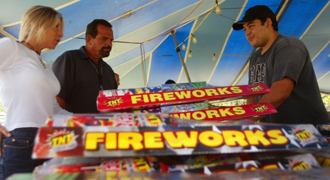 Fireworks on Sale Today