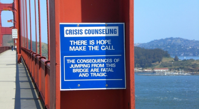 Art Tackles Ugly Side of Golden Gate Bridge