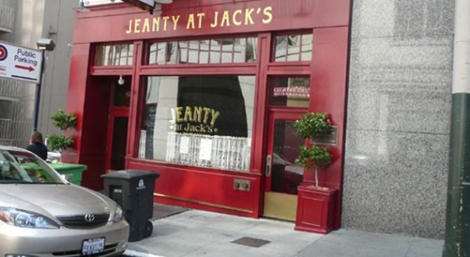 Jeanty at Jack's Bids Adieu