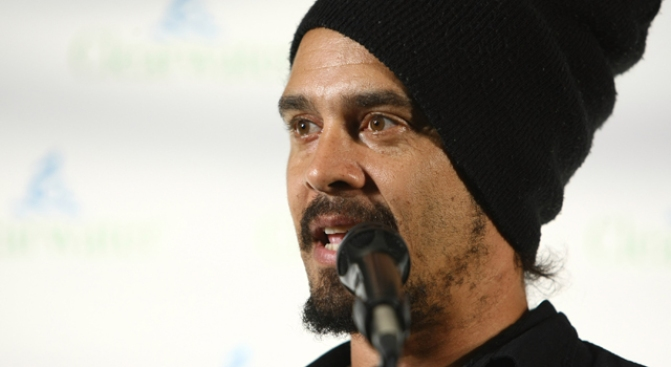 Michael Franti is Selling Oysters and Guinness