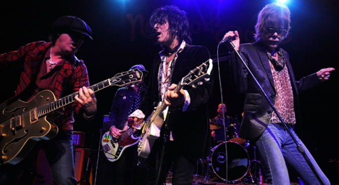 The New York Dolls Bring the Sleaze to the City