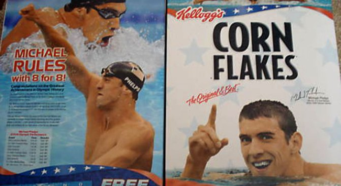 Phelps Up for Highest Bidder