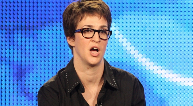 Rachel Maddow Remembers Her Bay Area Roots