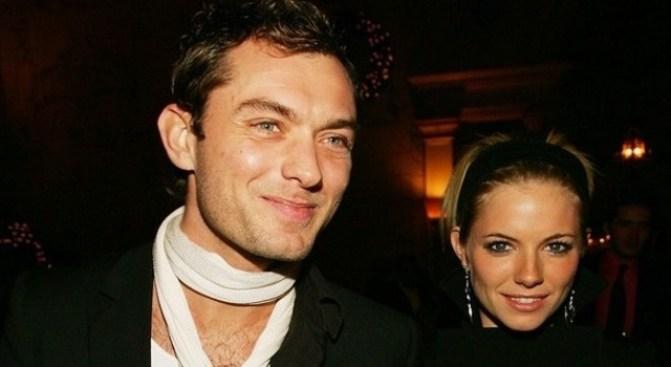 On Again: Sienna Miller & Jude Law?