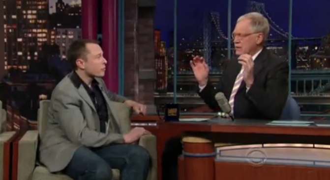 Letterman Wants Tesla to Explain Itself