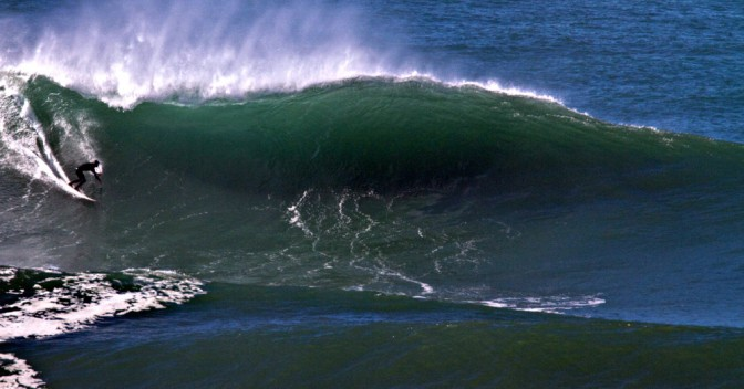 Mavericks Surfers Had to Bring Patience Today