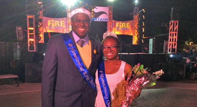 SJSU Names 1st African-American Homecoming King and Queen