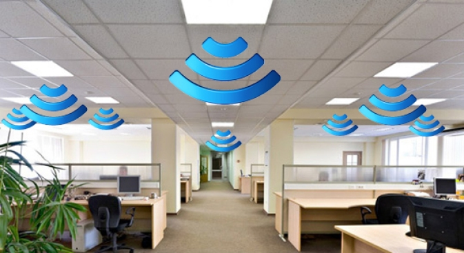 Flickering Office Lights Induce Wi-Fi, Headaches