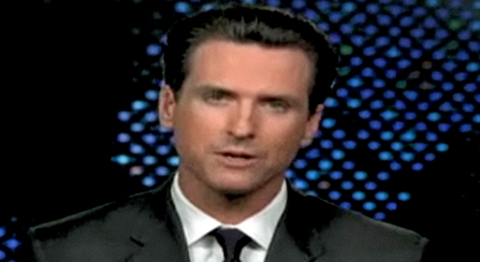 Newsom Tells Larry King Detroit Needs Steve Jobs