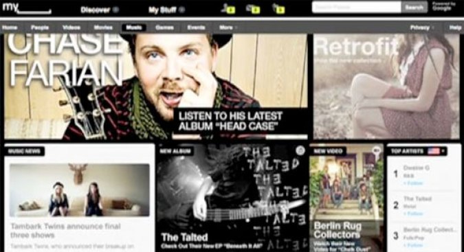 Myspace Redesign: the Look of Desperation