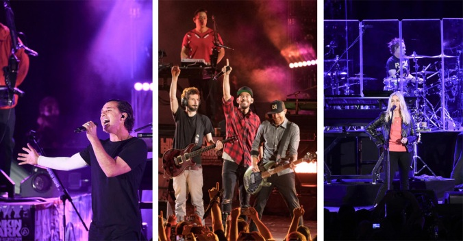 Stars Turn Out for Chester Bennington Tribute by Linkin Park