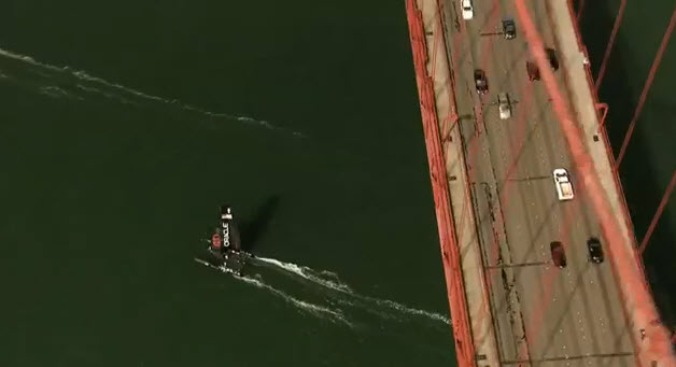 America's Cup Promotes San Francisco