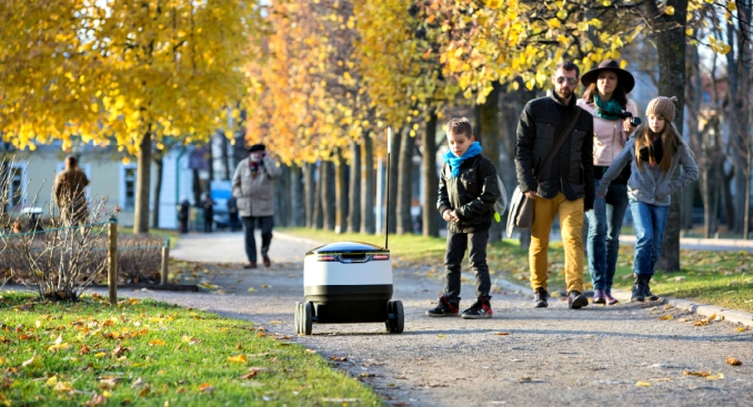 Redwood City Chosen as Pilot City for Robot Grocery Delivery
