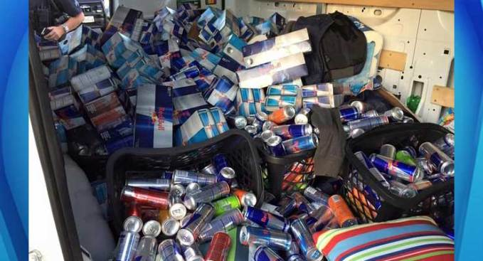Oakland Men Steal $4,700 in Red Bull: Police