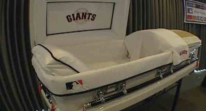 Giants Fans: Take Your Team to the Grave