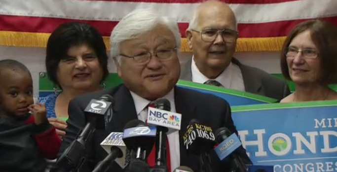 [BAY] Mike Honda Declares Victory Over Ro Khanna