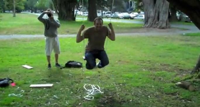 Swings Make People Happy
